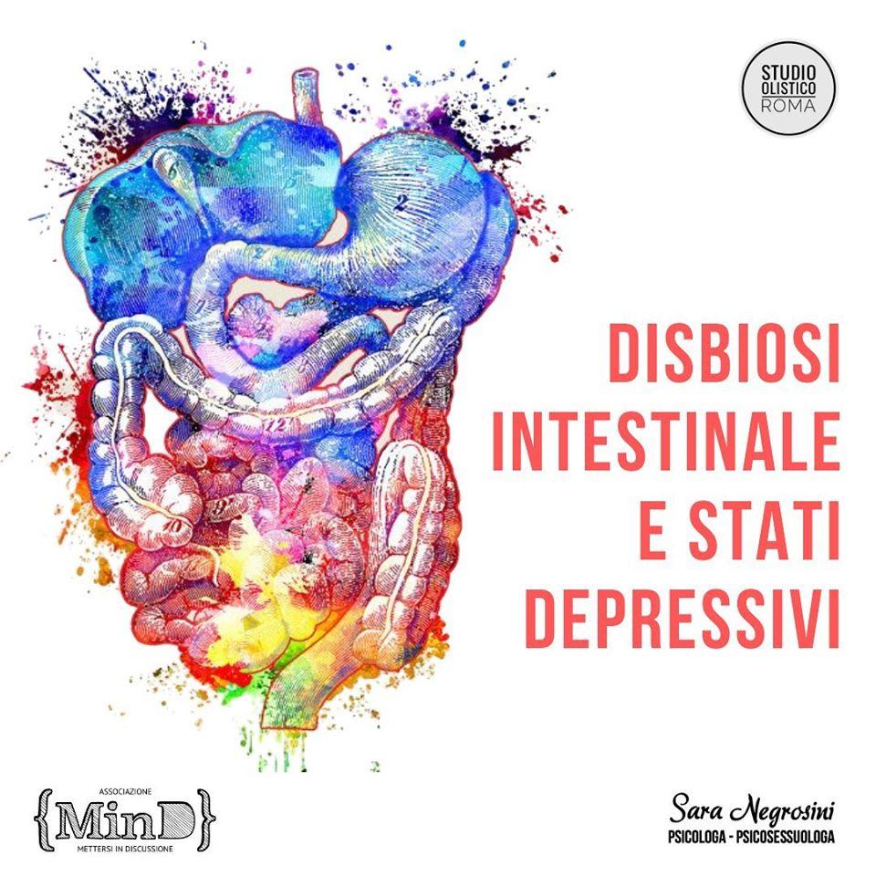Disbiosi intestinale e stati depressivi