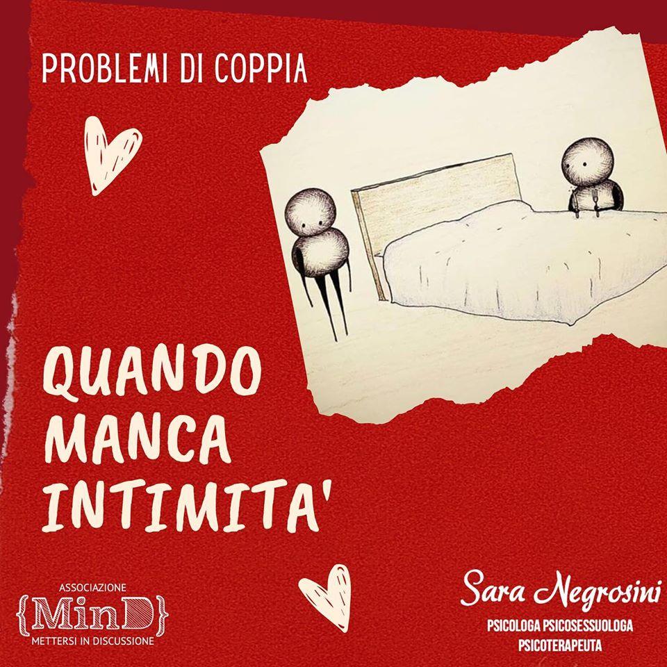Problemi di coppia: quando manca intimità