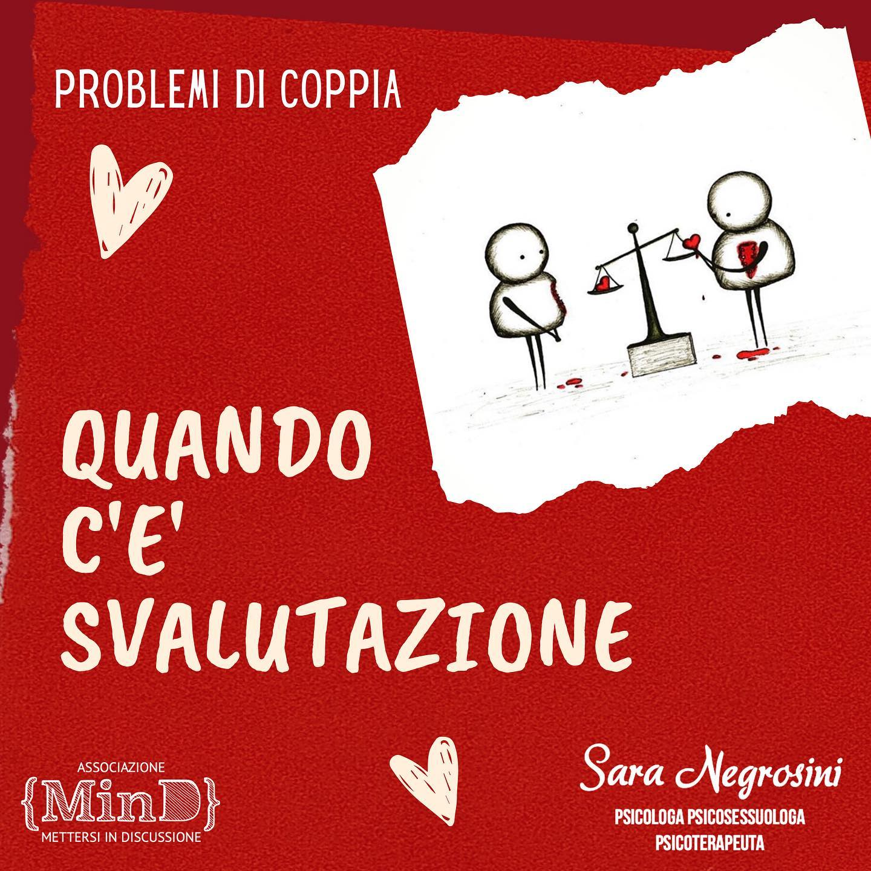 Problemi di coppia: quando c'è svalutazione