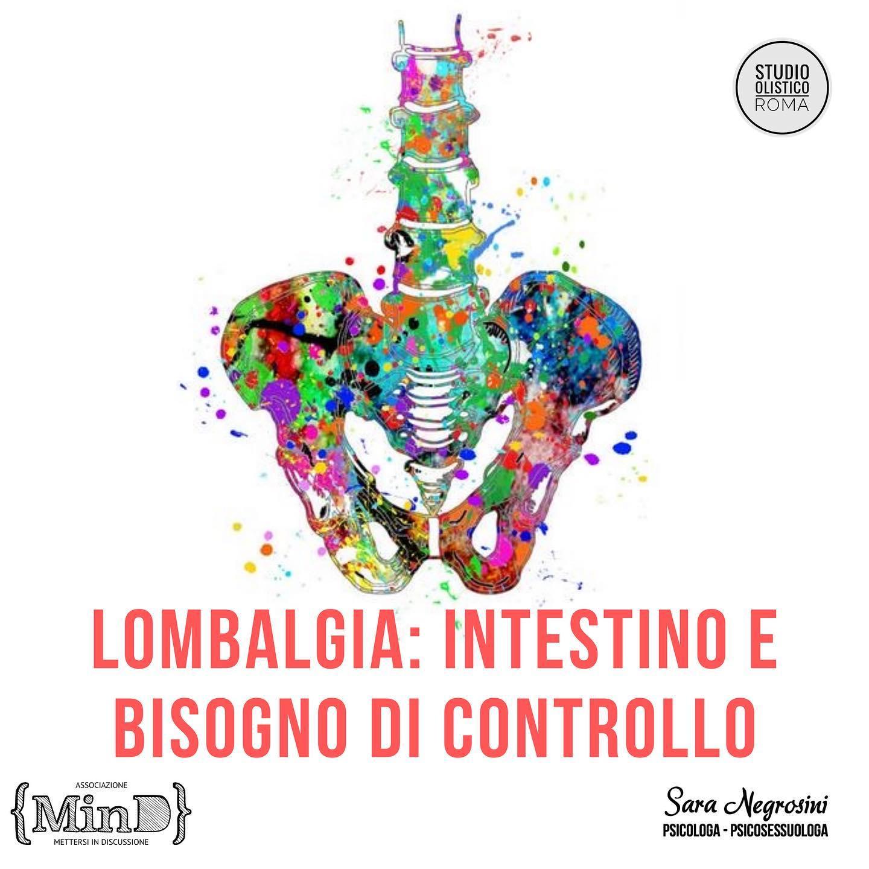Lombalgia: intestino e bisogno di controllo